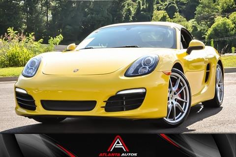 2013 Porsche Boxster for sale in Marietta, GA