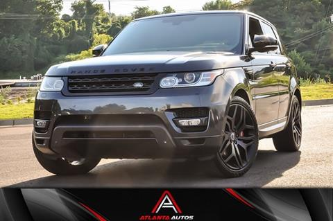2014 Range Rover Sport For Sale >> 2014 Land Rover Range Rover Sport For Sale In Marietta Ga