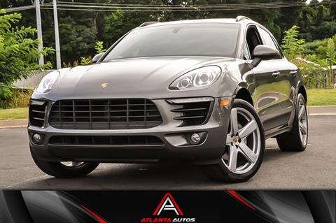 2016 Porsche Macan for sale in Marietta, GA