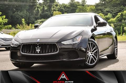 2016 Maserati Ghibli for sale in Marietta, GA