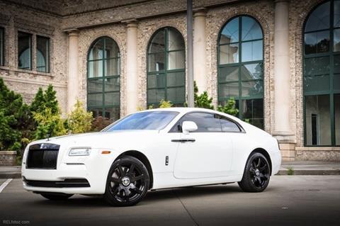 2016 Rolls-Royce Wraith for sale in Marietta, GA