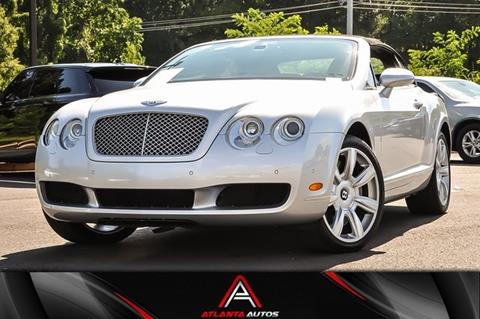2009 Bentley Continental for sale in Marietta, GA