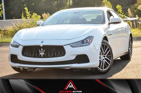 2015 Maserati Ghibli for sale in Marietta, GA