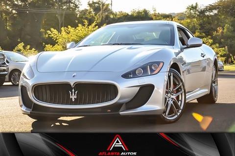 2012 Maserati GranTurismo for sale in Marietta, GA