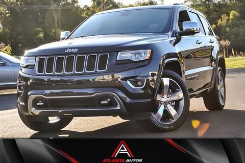 2015 Jeep Grand Cherokee for sale in Marietta, GA