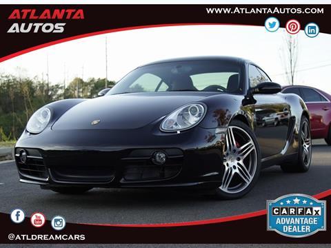 2007 Porsche Cayman for sale in Marietta, GA