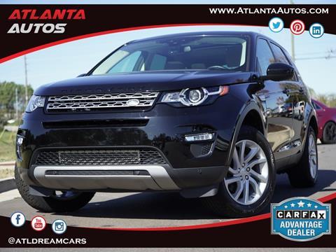 2016 Land Rover Discovery Sport for sale in Marietta, GA
