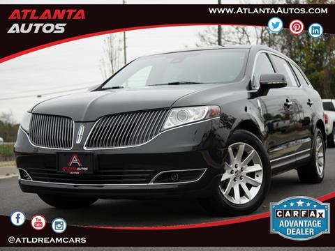 2015 Lincoln MKT Town Car for sale in Marietta, GA