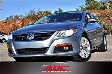 2010 Volkswagen CC for sale in Marietta, GA