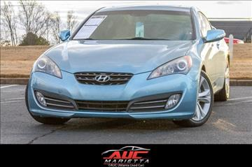 2010 Hyundai Genesis Coupe for sale in Marietta, GA