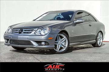 2009 Mercedes-Benz CLK for sale in Marietta, GA