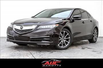 2015 Acura TLX for sale in Marietta, GA