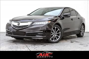 2015 Acura TLX for sale in Marietta, GA