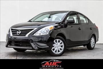 2015 Nissan Versa for sale in Marietta, GA