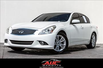 2011 Infiniti G25 Sedan for sale in Marietta, GA