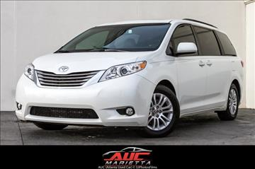 2015 Toyota Sienna for sale in Marietta, GA