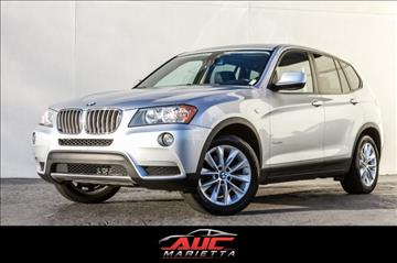 2013 BMW X3 for sale in Marietta, GA