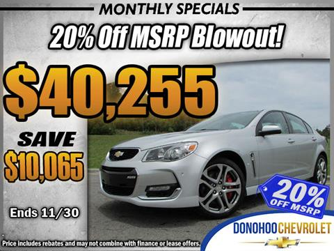2017 Chevrolet SS for sale in Fort Payne, AL
