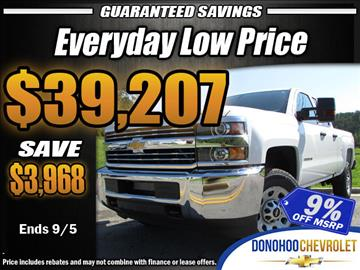 2018 Chevrolet Silverado 2500HD for sale in Fort Payne, AL