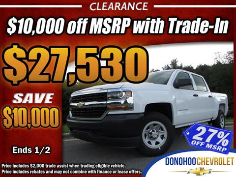 2017 Chevrolet Silverado 1500 for sale in Fort Payne, AL