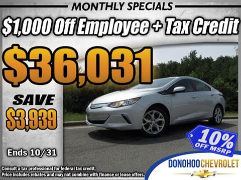 2018 Chevrolet Volt for sale in Fort Payne, AL