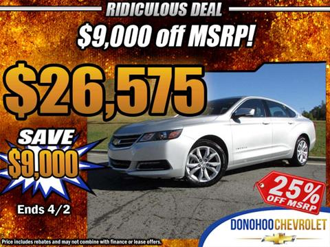 2018 Chevrolet Impala for sale in Fort Payne, AL