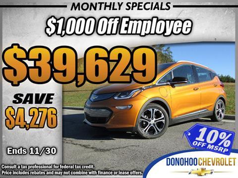 2017 Chevrolet Bolt EV for sale in Fort Payne, AL