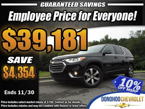 2018 Chevrolet Traverse for sale in Fort Payne, AL