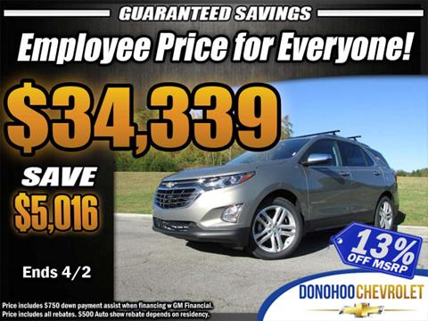 2018 Chevrolet Equinox for sale in Fort Payne, AL