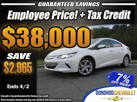 2018 Chevrolet Volt for sale in Fort Payne, AL