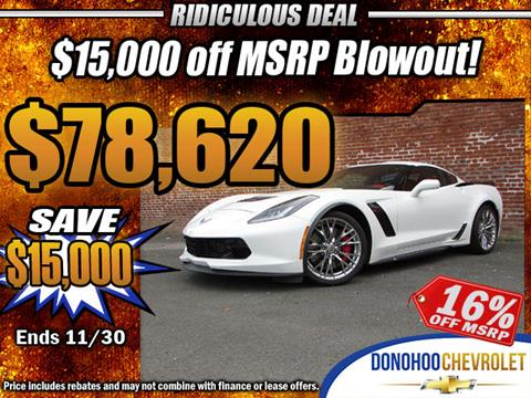 2017 Chevrolet Corvette for sale in Fort Payne, AL
