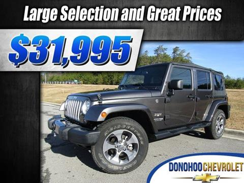 2018 Jeep Wrangler Unlimited for sale in Fort Payne, AL