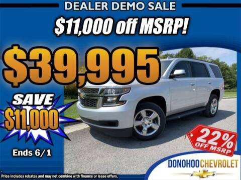 2020 Chevrolet Tahoe LS for sale at Donohoo Chevrolet in Fort Payne AL