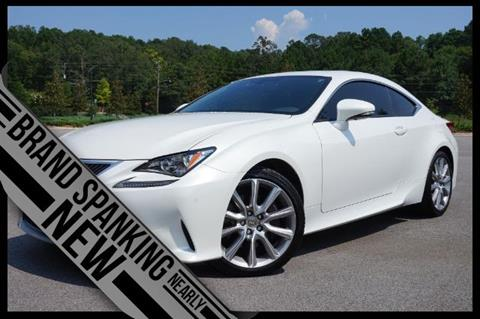 Lexus Rc 350 For Sale In Alabama