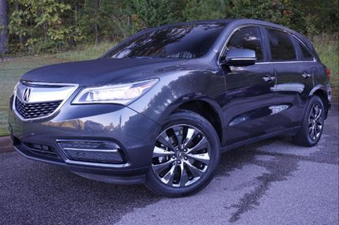 2015 Acura MDX for sale in Pelham, AL