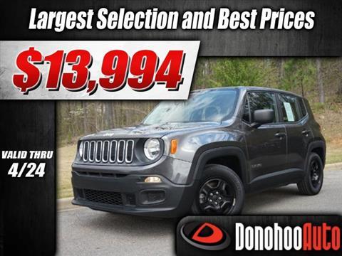 2016 Jeep Renegade for sale in Pelham, AL