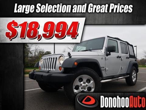 2011 Jeep Wrangler Unlimited for sale in Pelham, AL