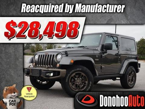 2017 Jeep Wrangler for sale in Pelham, AL