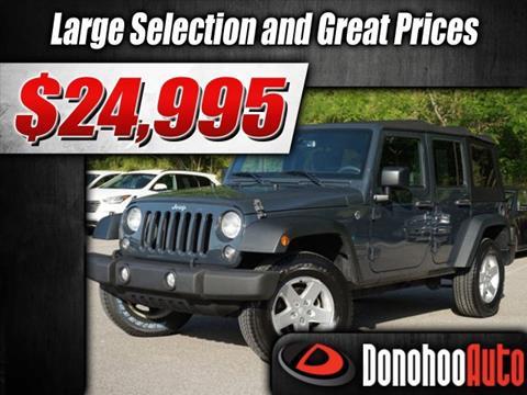 2016 Jeep Wrangler Unlimited for sale in Pelham, AL