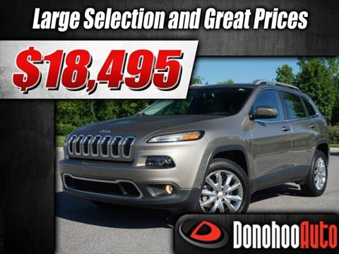 2017 Jeep Cherokee for sale in Pelham, AL