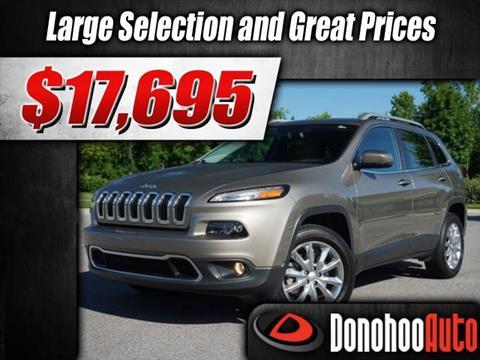 2017 Jeep Cherokee for sale in Pelham, AL