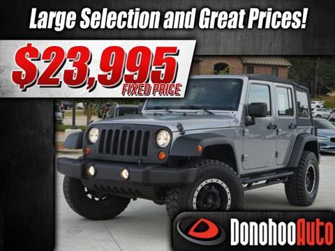 2013 Jeep Wrangler Unlimited for sale in Pelham, AL
