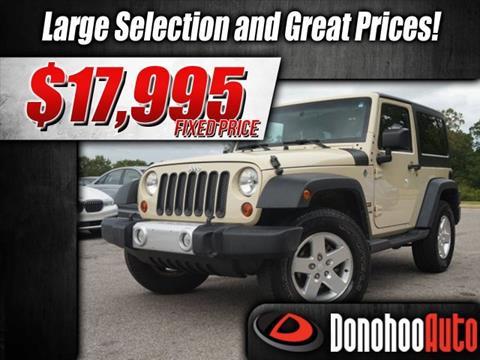 2012 Jeep Wrangler for sale in Pelham, AL