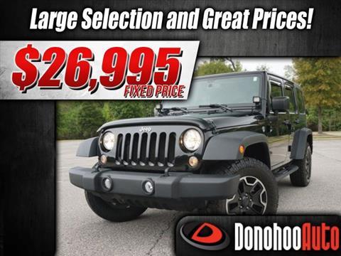 2015 Jeep Wrangler Unlimited for sale in Pelham, AL