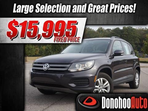 2016 Volkswagen Tiguan for sale in Pelham, AL