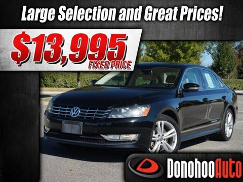 2014 Volkswagen Passat for sale in Pelham, AL