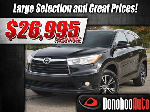 2016 Toyota Highlander for sale in Pelham, AL