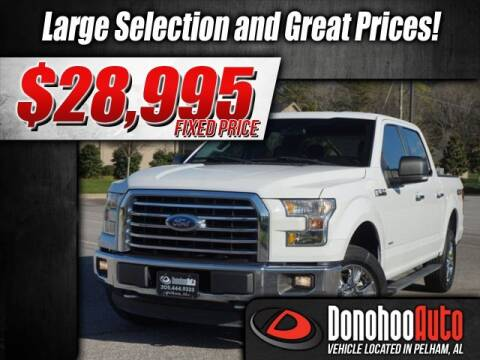 2016 Ford F-150 XLT for sale at DONOHOO AUTO in Pelham AL