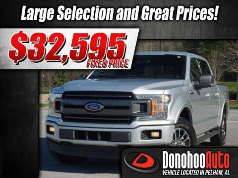 2018 Ford F-150 XLT for sale at DONOHOO AUTO in Pelham AL