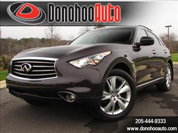 2013 Infiniti FX37 for sale in Pelham, AL